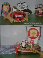 My papercrafts collection II by paulinone