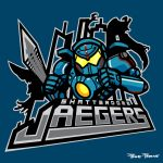 Shatterdome Jaegers by liu-psypher