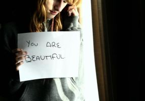 you are beautiful by disco-ball