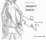 Priority Parcel - Title Page by zelaznostopy