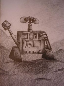 Wall-e by Ackermannn