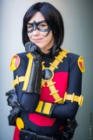 Female Red Robin Cosplay New 52 by Amberainbow