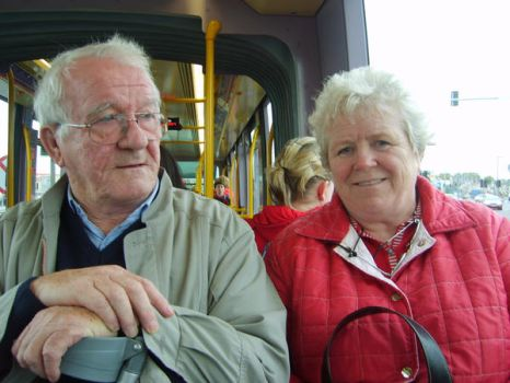 Couple on LUAS by soulfulheart
