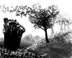 Trees Sketch by lacklogic