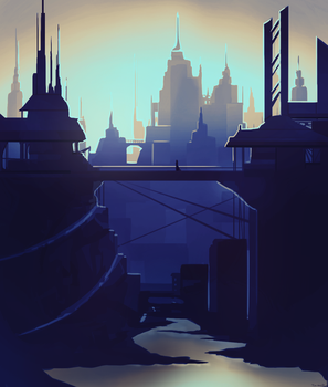 cityscape concept by tea-hee
