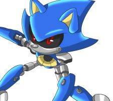 Metal Sonic by AngelofHapiness