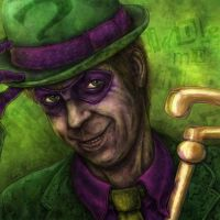 The Riddler: Puzzling, isn't it? by mkozmon