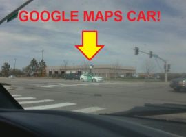 Google Maps Car by peppermix14