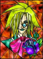 Herr Doktor Stained Glass by FrauV8
