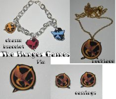 The Hunger Games Jewelry by kouweechi