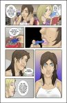 Berry Girl Comic Page 1 colored by jetpants