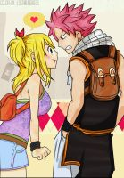 NaLu- Fairy Tail Volume 28 cover by lostmementos