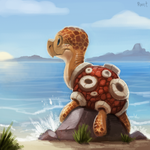 DAY 161. Shuckle (30 Minutes) by Cryptid-Creations