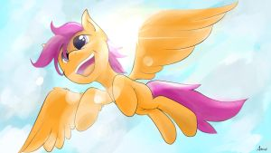I'll be flying by BubblesArts