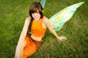 Pixie Hollow: Fawn by MangoSirene