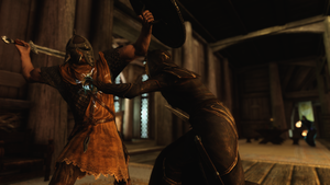 Elven supremacy shall take you, peasant of Talos! by TheDrugInMeIsYou00