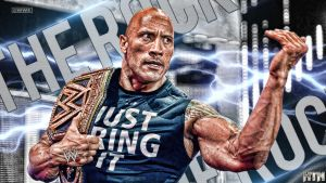 WWE The Rock At Raw 25th March 2013 by HTN4ever