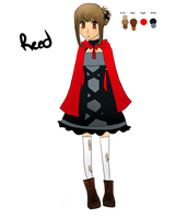 Reed Character Design by scootLdee