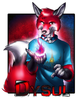 Dysul badge by Siplick