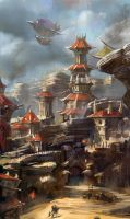 The old Orgrimmar by zippo514