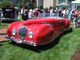 1947 Delahaye 135M Roadster by Figioni et Falaschi by Aya-Wavedancer