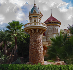 Prince Eric Castle Turret V2 by WDWParksGal