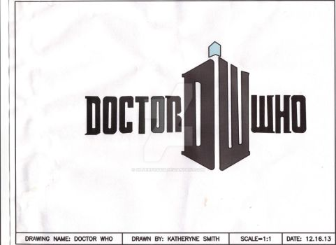 Doctor Who thing I drew by Silverfoxx18
