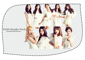 [Render Pack] SNSD - 9 PNGs @jemmy2000 by jemmy2000