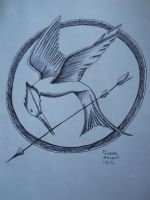 The Hunger Games Logo by ArchangelVampire