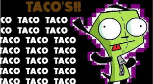 Taco for Gir by psycho4j35u5