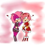 Amy and Sonia by Dinamitad