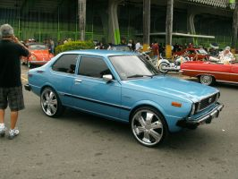 1978 Toyota Corolla on Dubs by Mister-Lou