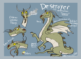 Destroyer by Wolfy-T