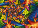 Psychedelic Wallpaper by magnusti78