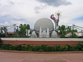 Epcot Spaceship Earth Stock 18 by AreteStock