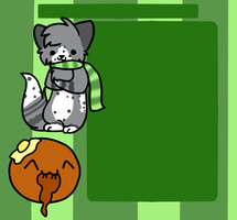 Commission: Splotchy Journal Skin by Snowdrop-the-Kitty