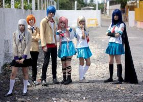 Angel Beats Group by ryouism