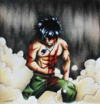 Gray Fullbuster - Fairy Tail 391 by InlineSpeedSkater