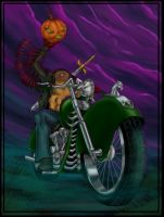 The Headless Rider by freakazoid1972