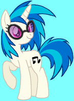 Vinyl Scratch by HeartinaRosebud