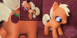 Apple Jack Plushie -for sale- by chmsa