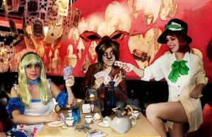 Alice in Wonderland Tea Party by seniormanager