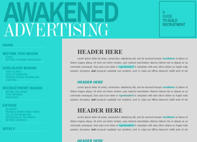 Awakened Advertising (client) by Recite