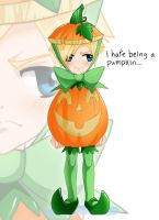 I hate being a pumpkin-Adrain by DigiAvalon