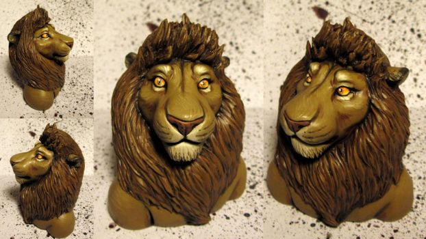 24 Sculpture Bust by WindsorLion
