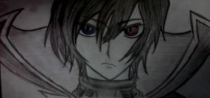 Lelouch Lamperouge drawing by keichan77