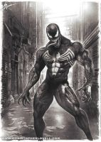 'Venom' by Christopher Lovell Art by Lovell-Art