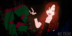 .:MMD 100 Theme Challenge:. 02: Color by kellytecna