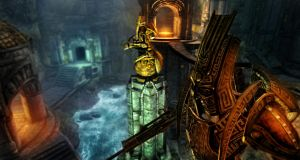 Skyrim : The gates of Nchuand-Zel by UltimaDX