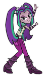 Aria Blaze by partylikeapegasister